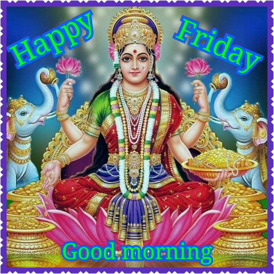 Goddess Lakshmi Images With Good Morning - Goddess Lakshmi Images With Good Morning