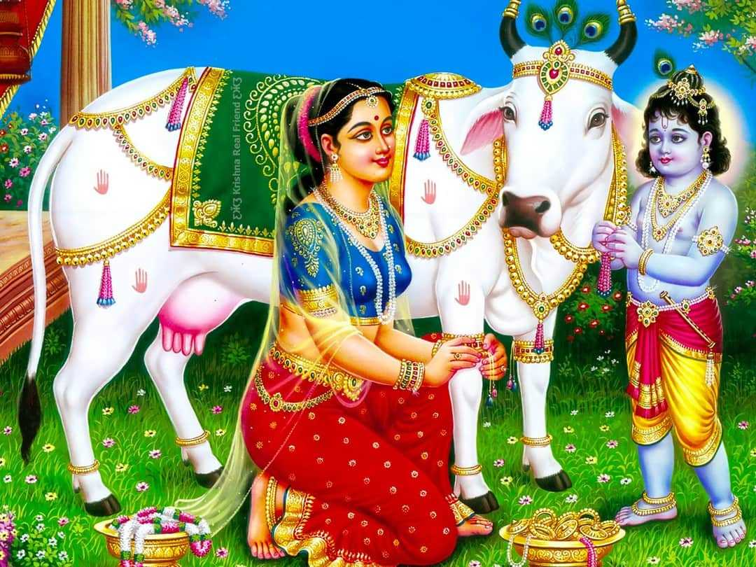 Photos of the Gods Shree Krishna and Mother Yashoda - Photos of the Gods Shree Krishna and Mother Yashoda