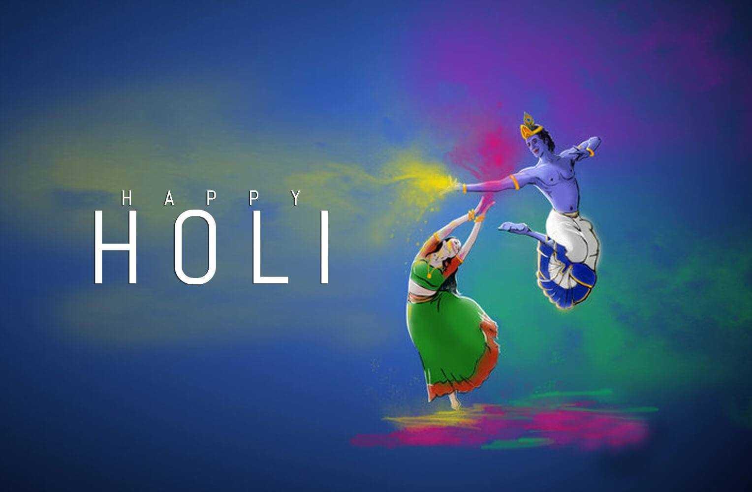 Holi Wallpaper HD with Radha Krishna for Whatsapp - Holi Wallpaper HD with Radha Krishna for Whatsapp