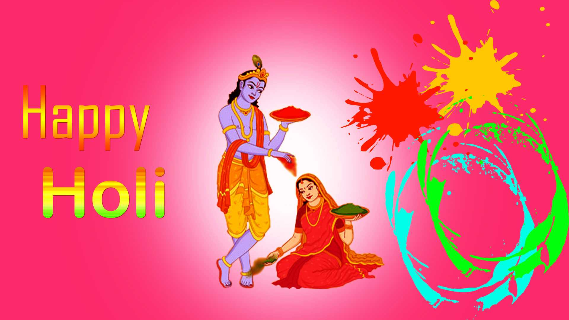 Radha Krishna Romantic Holi Wallpaper Photo Picture HD Download - Radha Krishna Romantic Holi Wallpaper Photo Picture HD Download