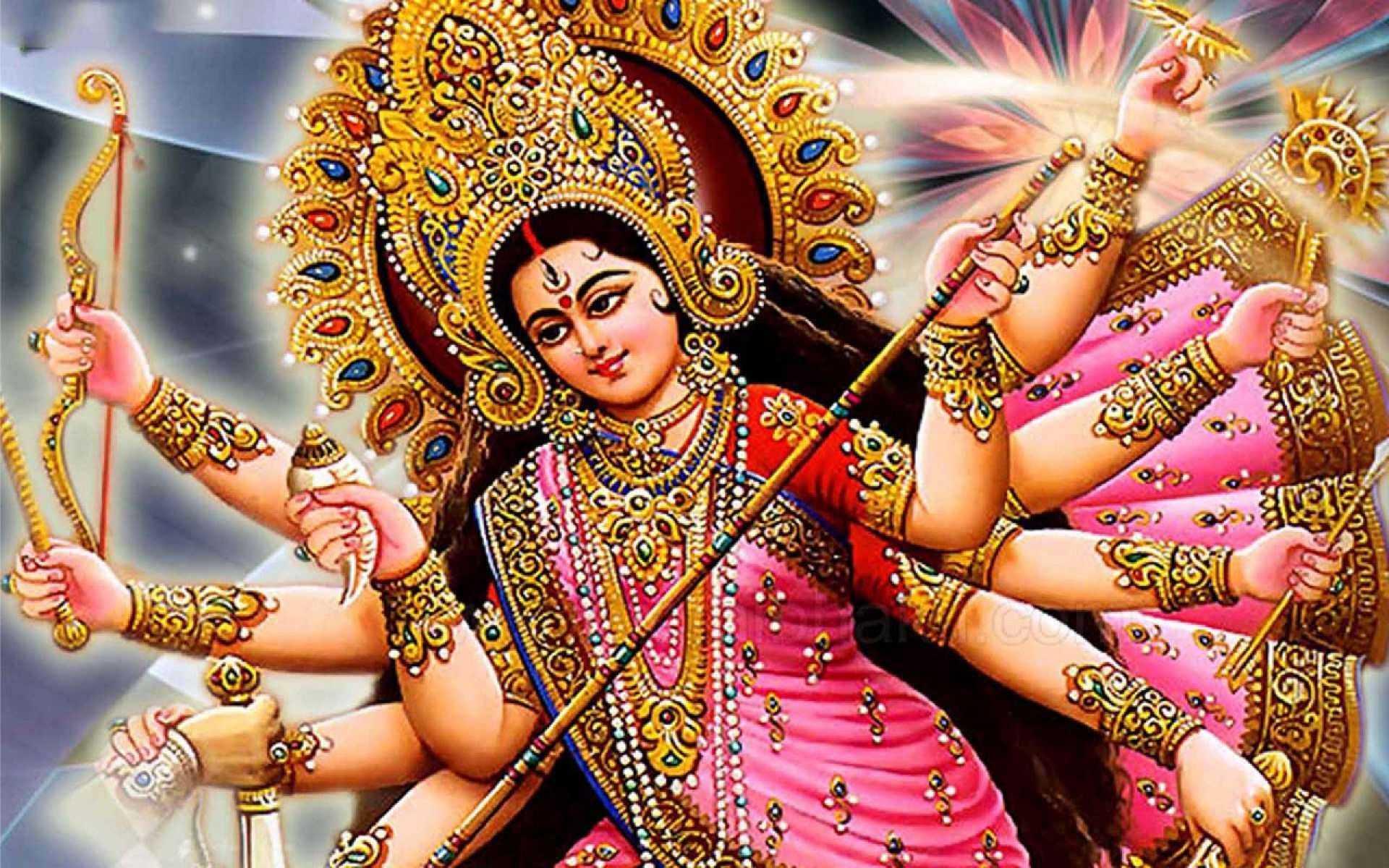 Durga Mata Navdurga Images Meri Mata - Mata Durga Navdurga Images Wallpaper. Jai Maa Durga Durga Devi Maiya Ji Wallpaper. Navratri Navdurga Mata Ji Wallpaper