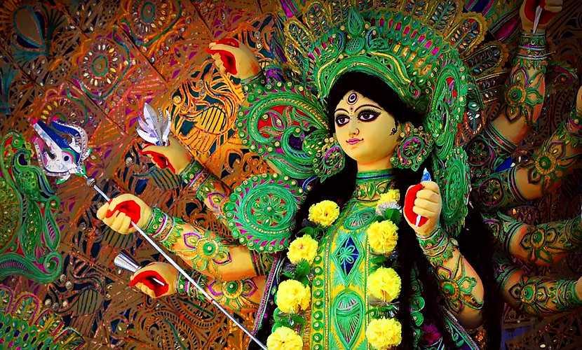 Maa Durga Pooja Wallpapers, HD Mata Durga Pooja Pic - Best Wallpaper of Maa Durga Pooja Pic in India. Mata Durga Ji Sherwali Mata Durga Maiya Ji Meri Sherawali Mata Durga Pooja Pics
