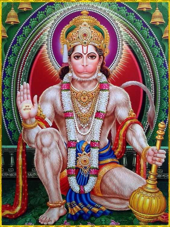 Hanuman God Blessing Picture for Hanuman Devotees - Hanuman God Blessing Picture for Hanuman Devotees