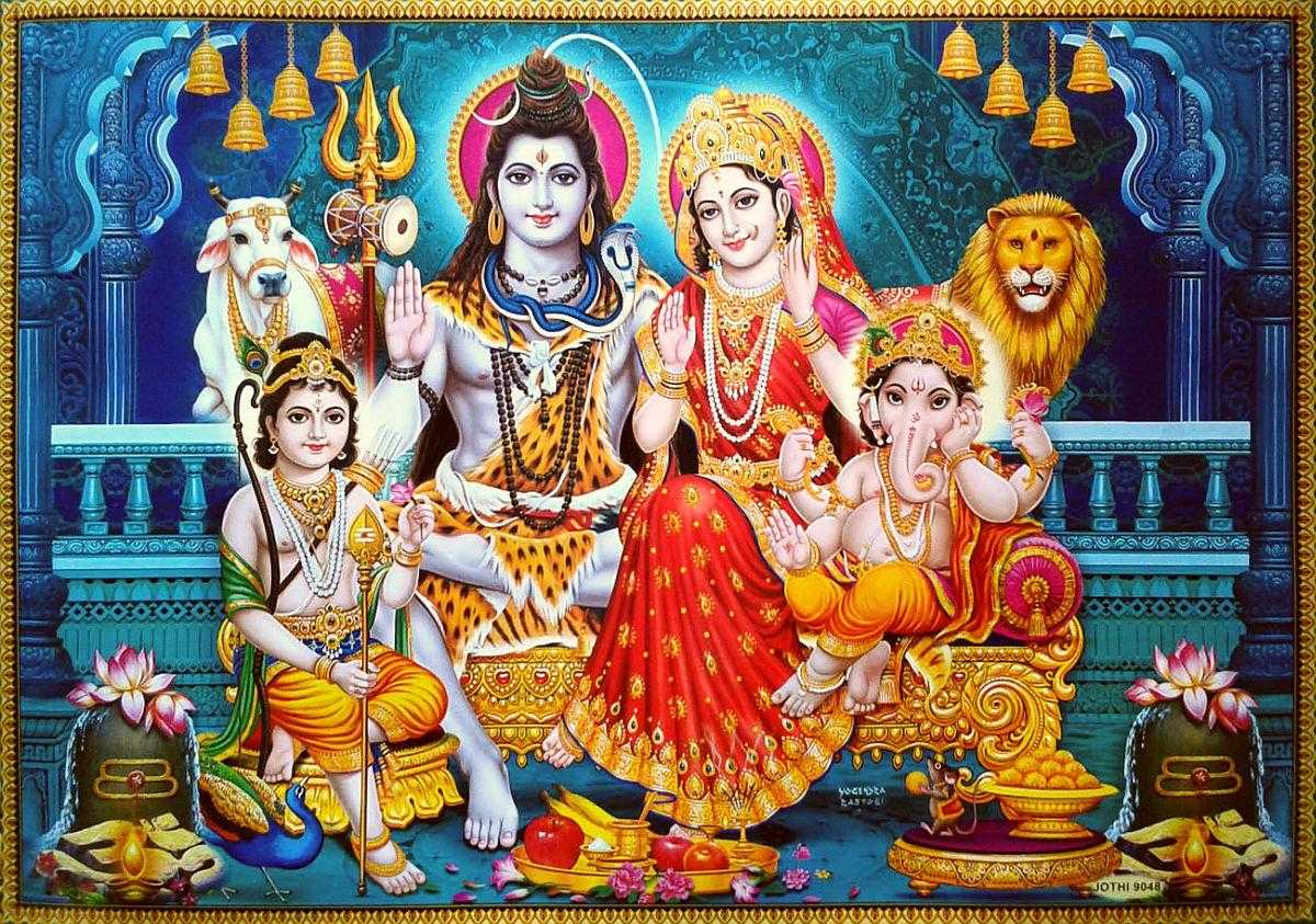Lord Shiva Beautiful Painting Wallpaper with Family - Lord shiva family wallpapers for mobile free download hd. Awesome lord shiva family mobile wallpaper free download.