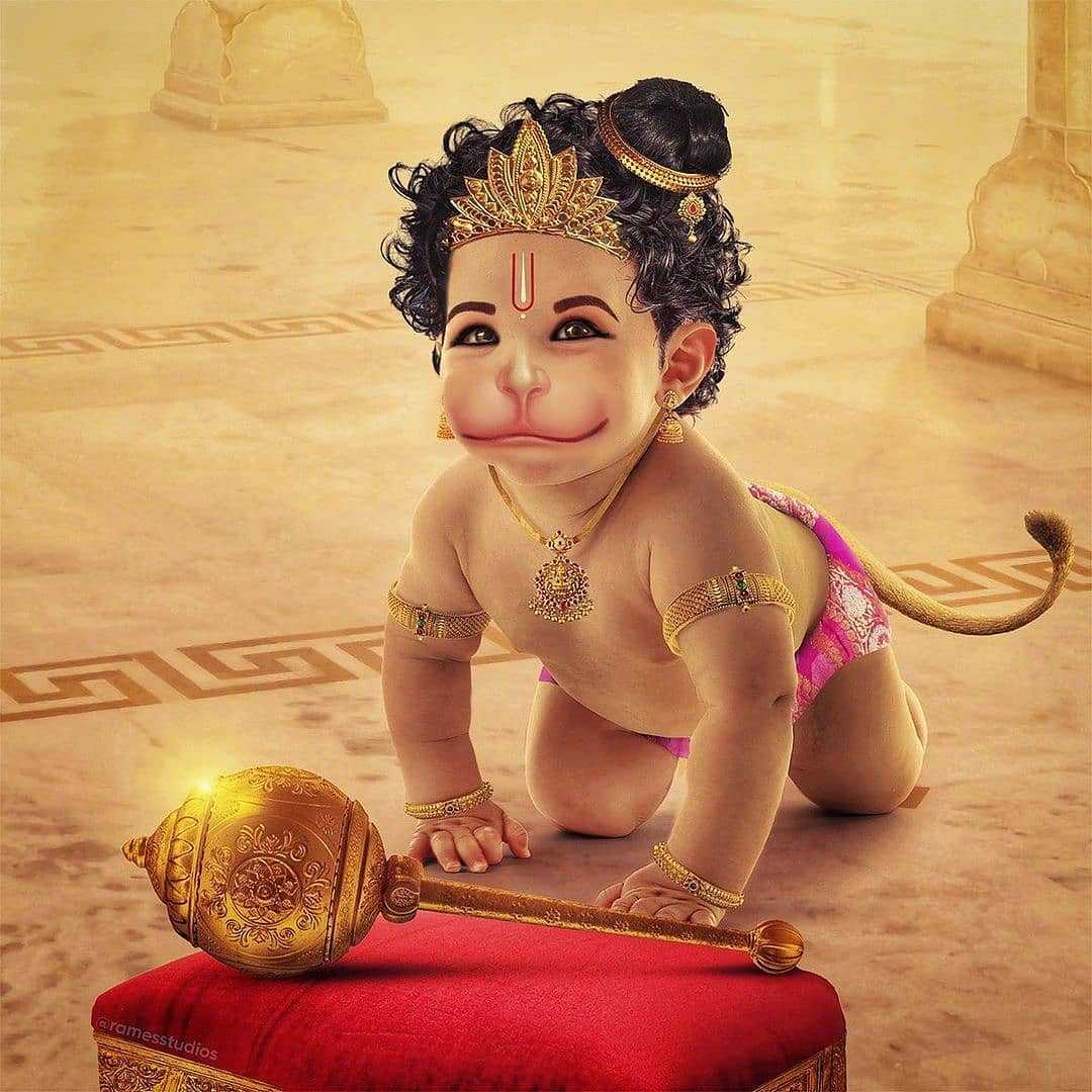 Little God Hanuman Wallpapers Download HD - Little God Hanuman Wallpapers Download HD