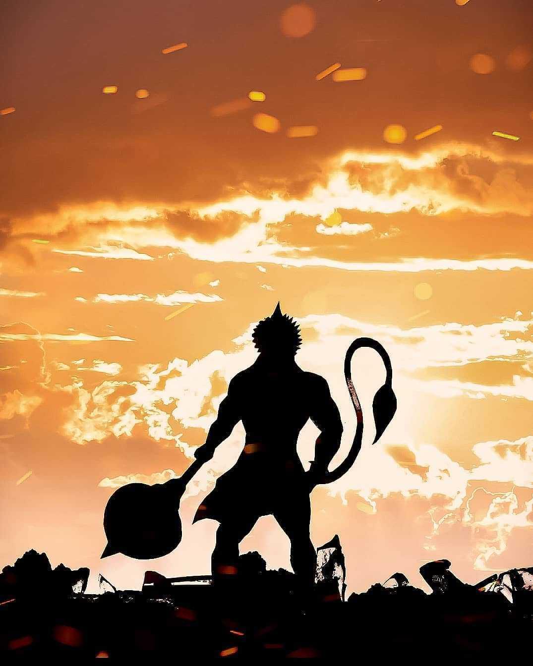 Shri Balaji Hanuman with Gada Image - Shri Balaji Hanuman with Gada Image