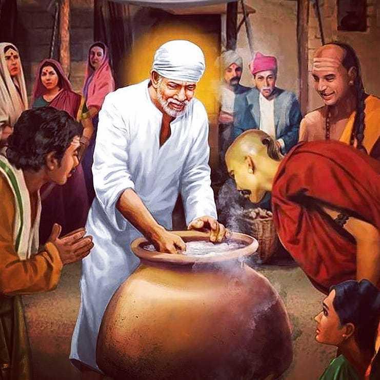 Hindu God Sai Baba HD Wallpaper Download - Check out the Hindu God Latest Sai Baba Bhakti Wallpaper. Download the latest Sai Baba New Wallpaper in HD Free Download.