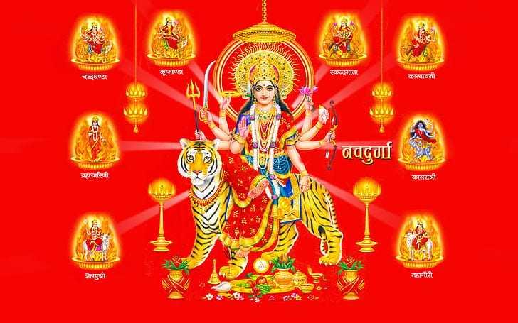 Maa Durga Desktop Wallpaper Full Size Hd Quality - Maa Durga Desktop Wallpaper Full Size Hd Quality