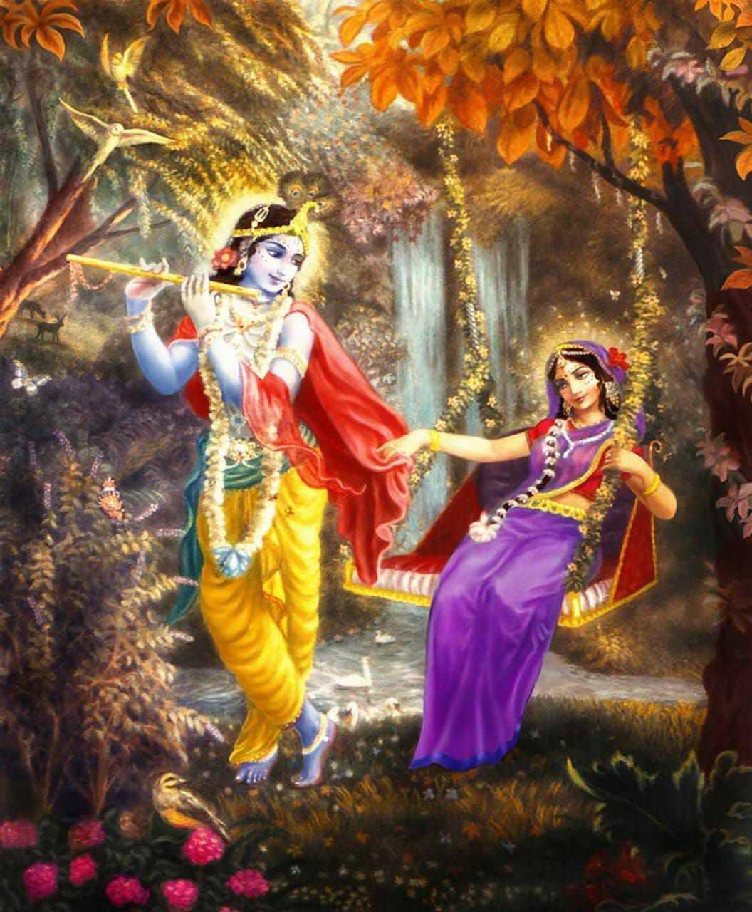 Jai Krishna Kanhaiya Fresh Wallpaper HD Quality - beautiful Krishna love wallpaper with goddess radha rani, Images of lord krishna and radha in love, Most beautiful shree krishna images & wallpapers of radha rani.