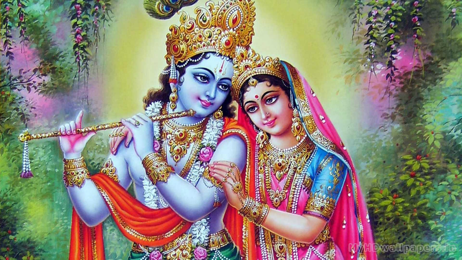 Hindu Radha Krishna Wallpaper | Krishna God Radha Pics - Lord Krishna Radha Pics in HD Format. Radha Krishna Ji HD Best Wallpaper. Full Size HD Images of God Krishna and Beautiful Radha Ji.