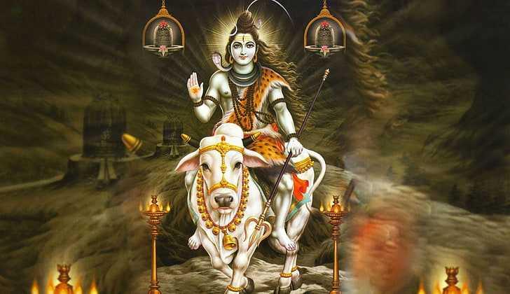 Lord Shiva Nandi Sawari Wallpaper | Shiva Nandi Images - Bhole Bhandari Nandi Sawari Lord Shiva Wallpaper. Beautiful Photos of Lord Shiva Shankar Bholenath. Aghori Shiva God Wallpapers for Free Download.