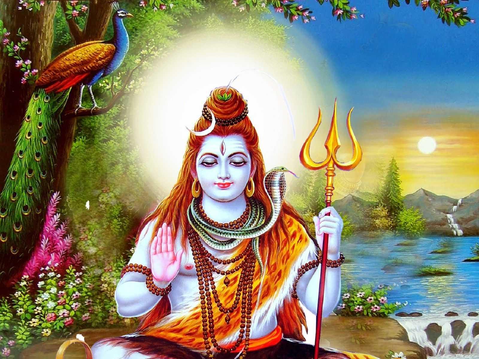 Lord Shiva Image with Third Eye, Shiva Bhagwan Image - God Shiva Image in Swastika Mudra with Third Eye on Head. God Shiva Picture, Bhagwan Shiv, Bholenath, Shiv, Shiv Ji, Shiv Bhakti Wallpaper.