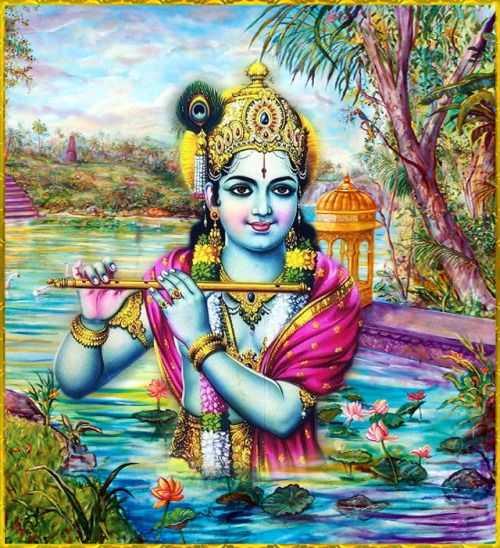 HD Lord Krishna Wallpaper Blinking Eyes Download - HD Lord Krishna Wallpaper Blinking Eyes Download