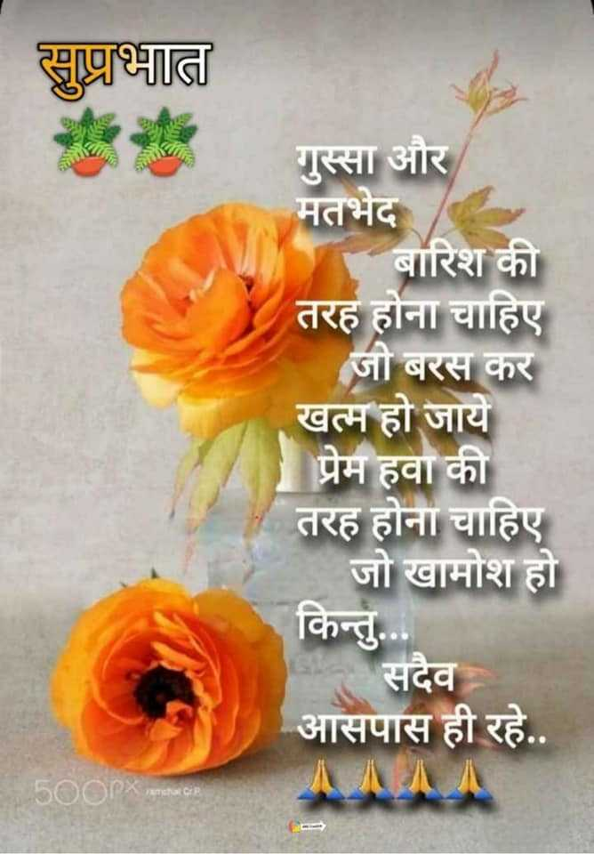 Suprbhat Savera Good Morning Quotes in Hindi with Image - Suprbhat Savera Good Morning Quotes in Hindi with Image