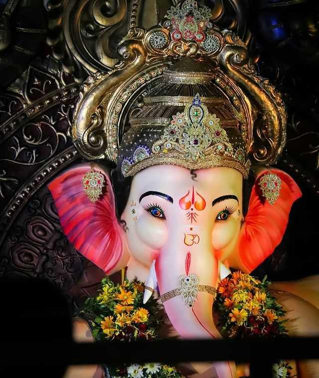 Ganpati Bappa Ganesh Ji Face Picture - Ganpati Bappa Ganesh Ji Face Picture
