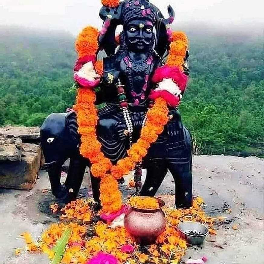Shanidev Maharaj Picture for Shaniwar Whatsapp - Jai ho Shree Shanidev Maharaj ki pictures for whatsapp free download. Shanidev Black images are best wallpapers to share on  saturday. He is recognized as the God of Justice, so people worship him to get blessings on Shaniwar.