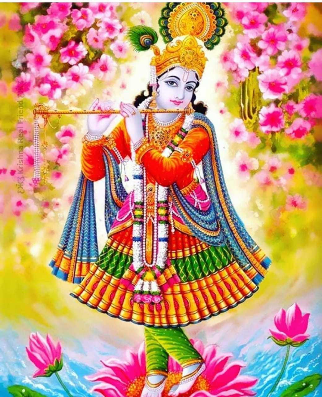 Good Morning Wallpaper with Beautiful God Krishna - Download the perfect cute krishna pics for wallpaper hd 1080p. Lord Krishna HD Wallpapers 1920x1080 for desktop.