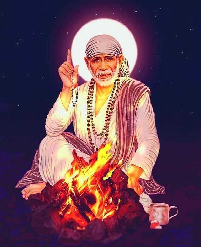 Sai Baba Ji Sabka Malik Ek Picture Status - Sai Baba Ji Sabka Malik Ek Picture Status